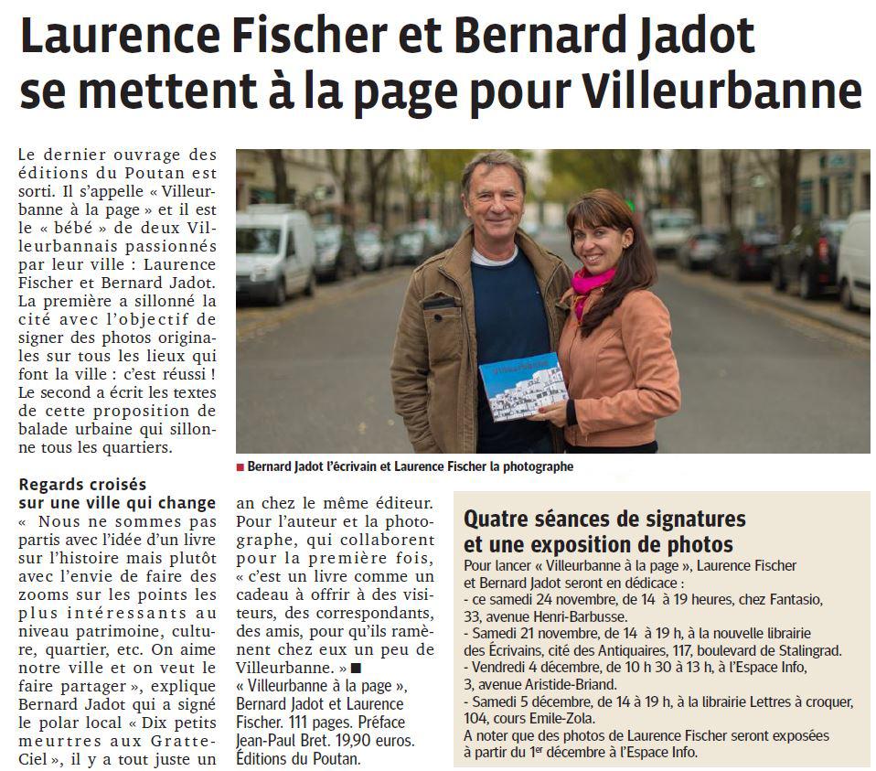 Livre Laurence Fischer Villeurbanne