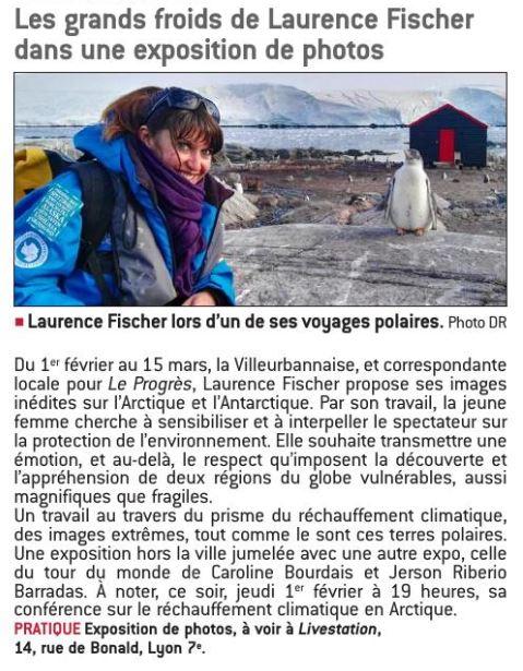 Laurence Fischer expo photo pôles