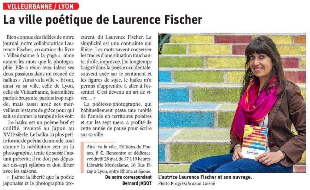 Laurence Fischer Ainsi va la ville Progres