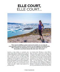 Laurence Fischer courir Groenland