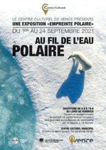 empreinte polaire au fil de l'eau polaire