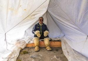 Inuit hunter, Greenland